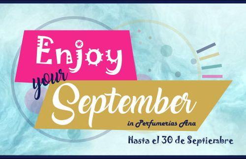 Disfruta septiembre con Perfumerías Ana y su fantástico sorteo Biotherm