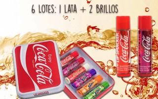 Sorteo 6 Lotes Coca-Cola Lip Smacker