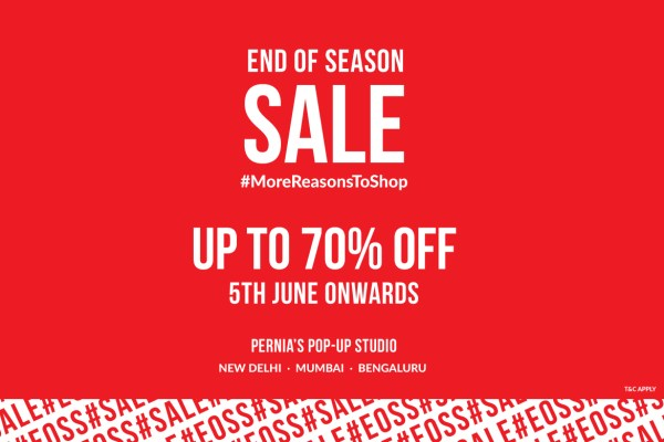 End of Season Sale at Pernia's Pop-Up shop
