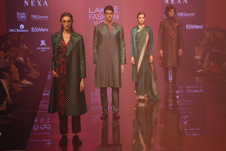 Kshitij Jalori Lakme Fashion Week