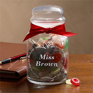 custom candy jar