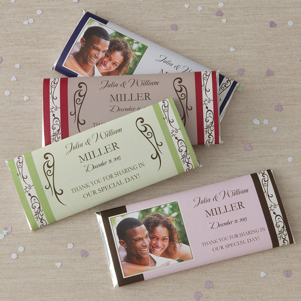 custom candy bars