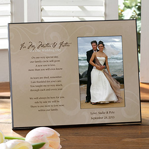wedding frame for parents