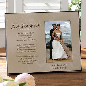 wedding frame for parents