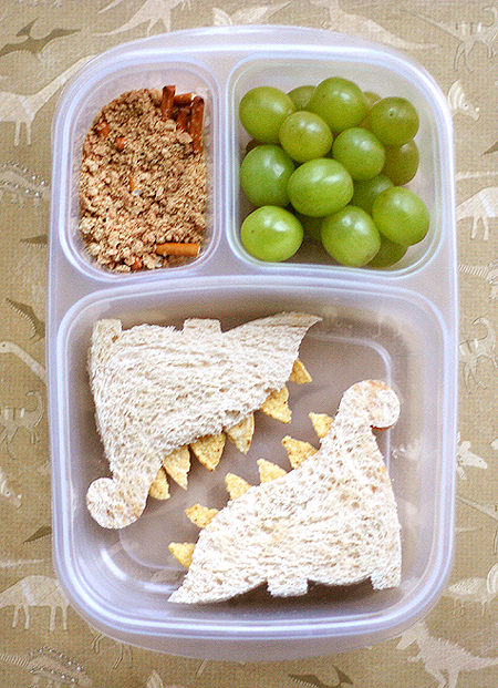 dino sandwich