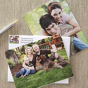 """PersonalizationMall's """"Just Us"""" Photo Note Cards"""