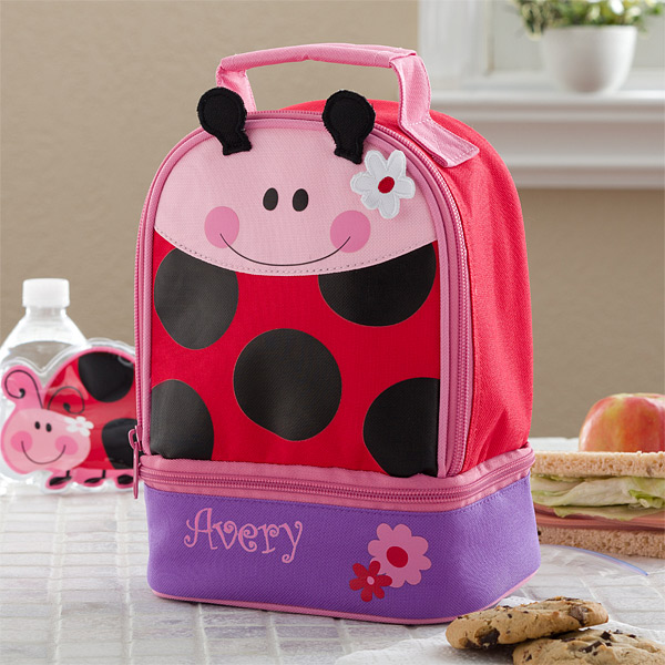lady bug lunchbox