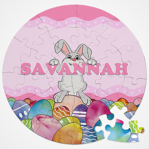Personalized Easter Puzzle for Kids