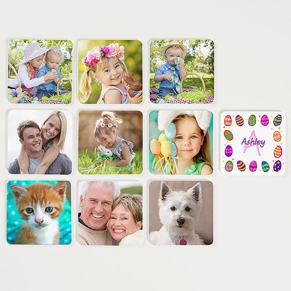 Custom Easter Photo Memory Game for Kids