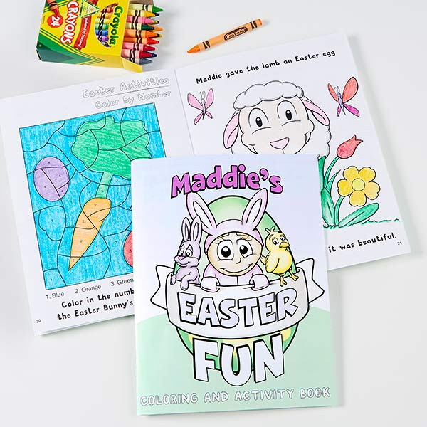 Easter Fun! Custom Coloring Book for Kids