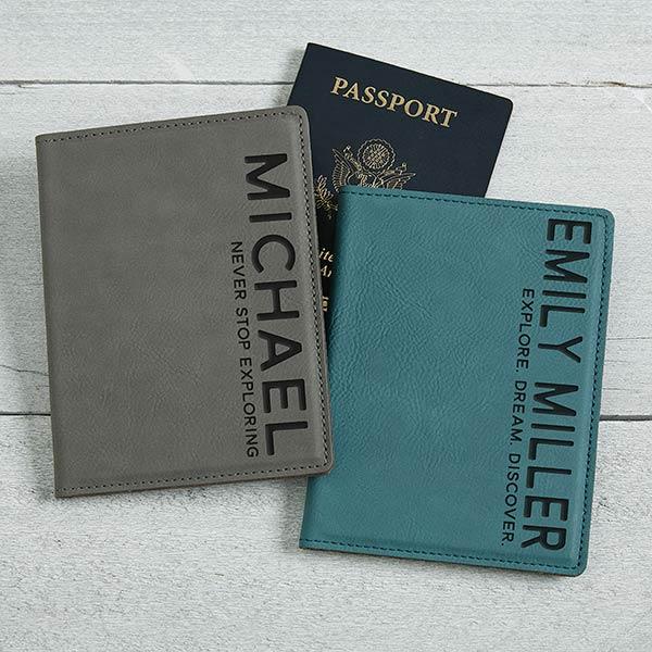 Custom Passport Holder