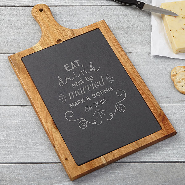 Custom Slate Cutting Board