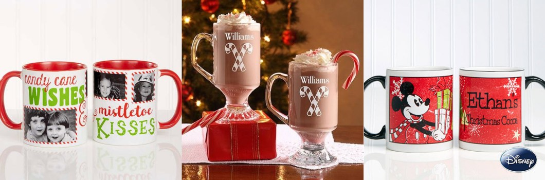 Holiday Hot Cocoa Mugs