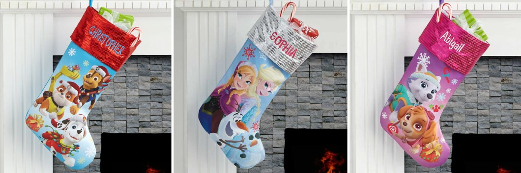 Personalized Kids Christmas Stockings