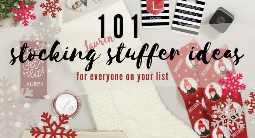 101 Stocking Stuffer Ideas