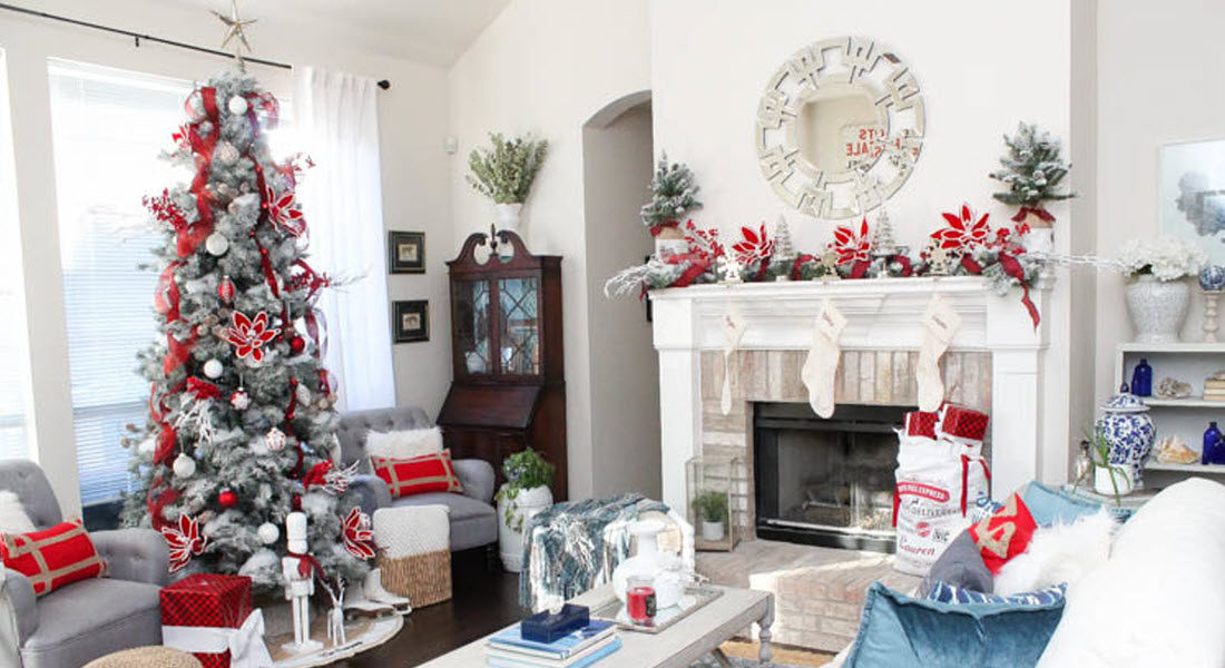 Holiday Home Decor - A Blissful Nest