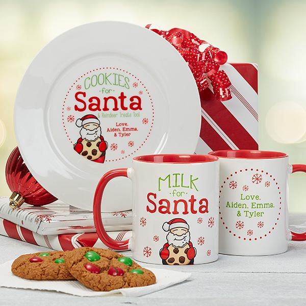 Cookies For Santa Plate and Mug