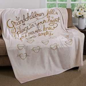 Grandparent Keepsake Blanket