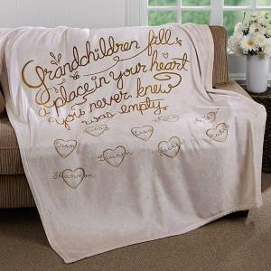Grandparent Keepsake Blanket