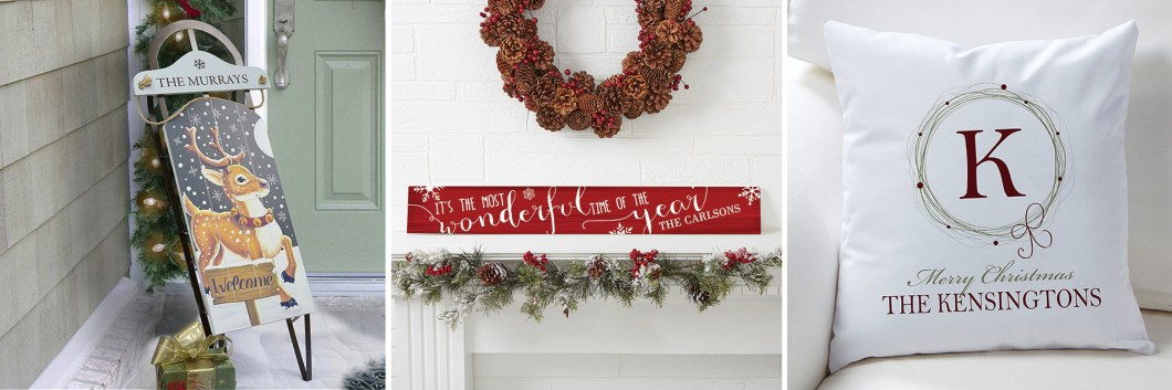 Holiday Mantel Decor Accessories