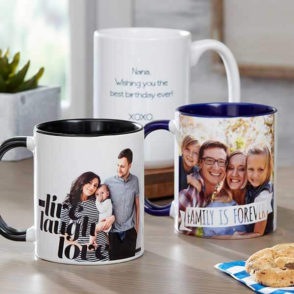 Photo Expressions Personalized Coffee Mug