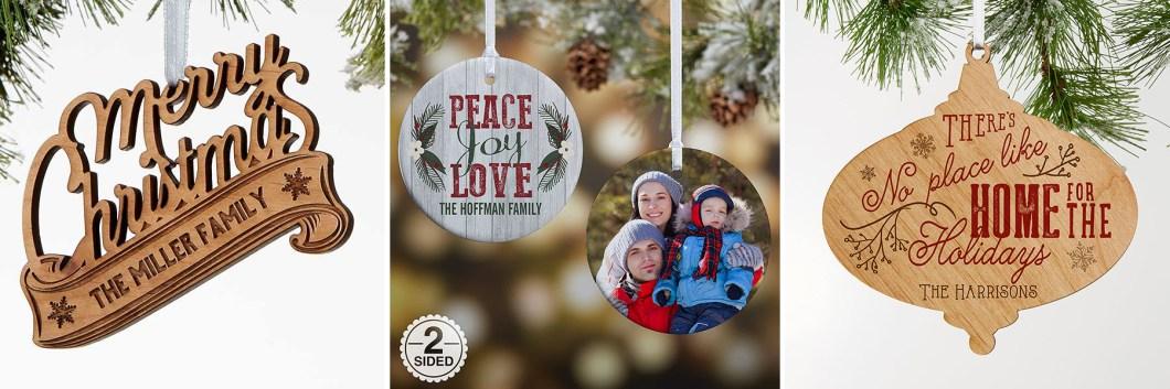 Rustic Christmas Ornaments