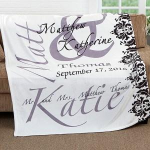Wedding Keepsake Blanket