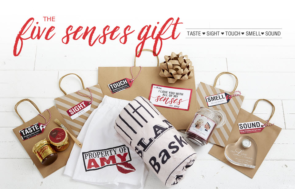 surprise your valentine with a unique five senses gift plus free printable