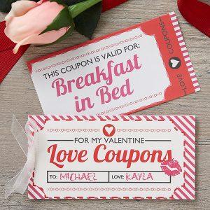 Sexy coupon book ideas
