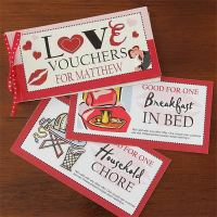 Custom Love Coupons