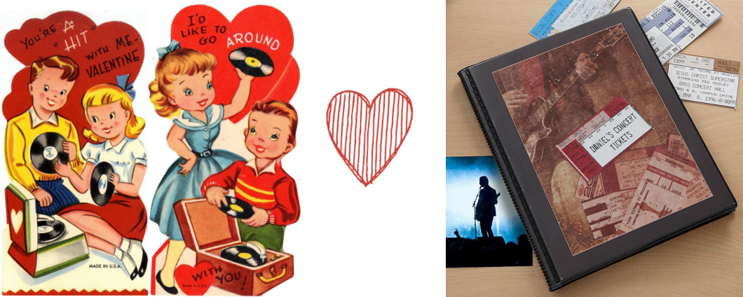 Valentine's Day Music Gifts for Him