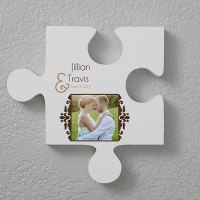 Photo Puzzle Piece Wall Décor