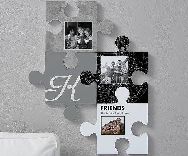 Friends Puzzle Piece Wall Decor