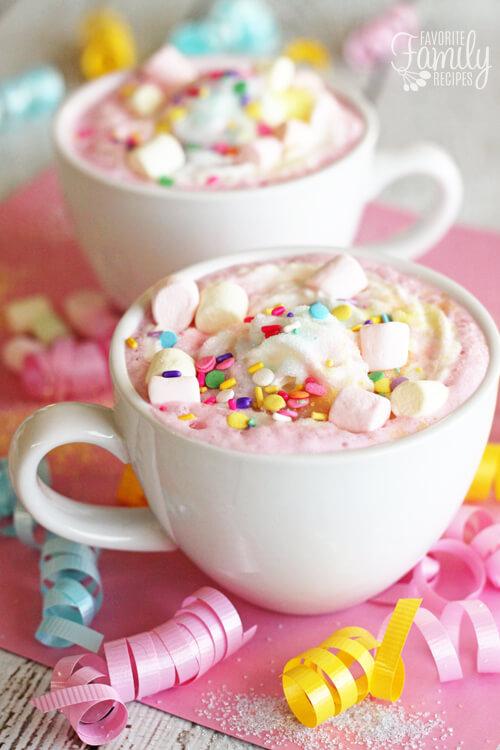 Unicorn Hot Chocolate Recipe