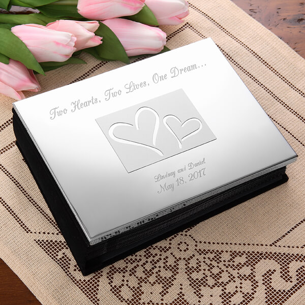 Engraved Photo Album Wedding Gift
