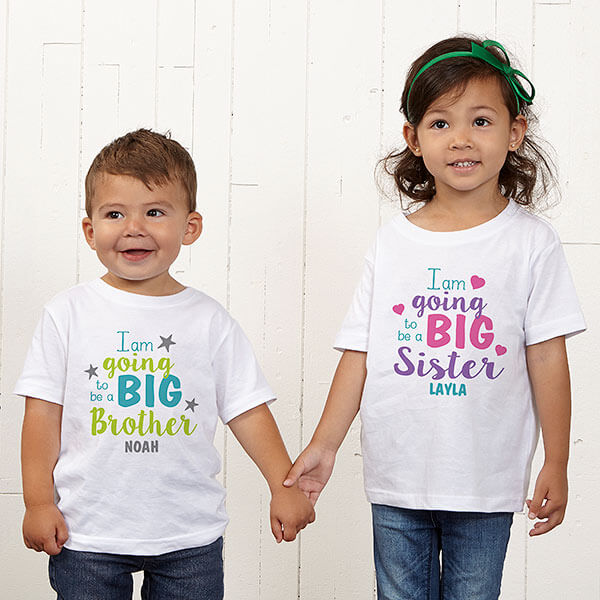 Big Sister, Big Bother Custom T-Shirts
