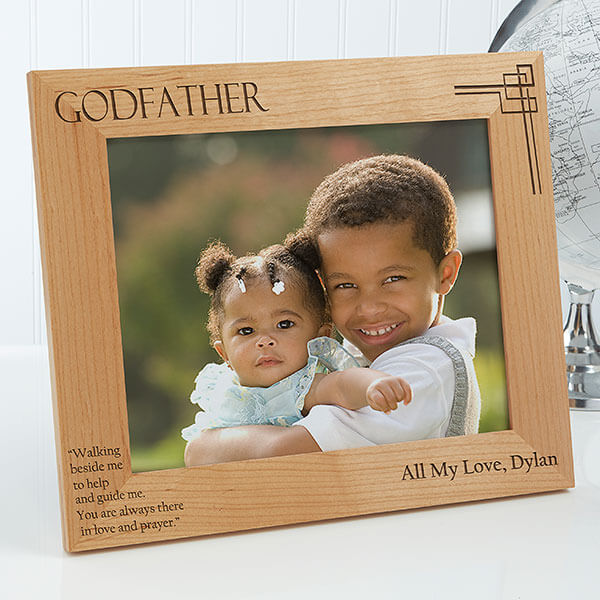 Godparent Personalized Photo Frame