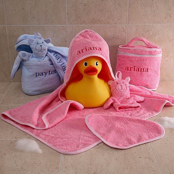 Personalized Baby Bath Set