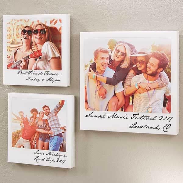 Instant Photo Canvas Prints