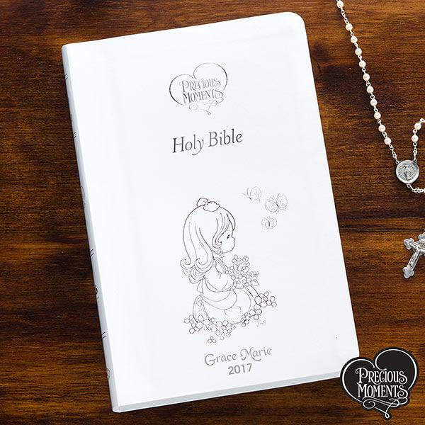 Precious Moments Personalized Bible