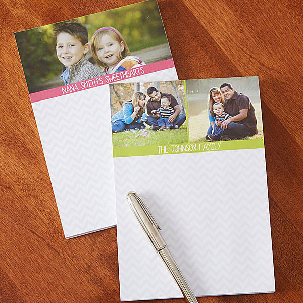 Personalized Photo Notepad for Mom