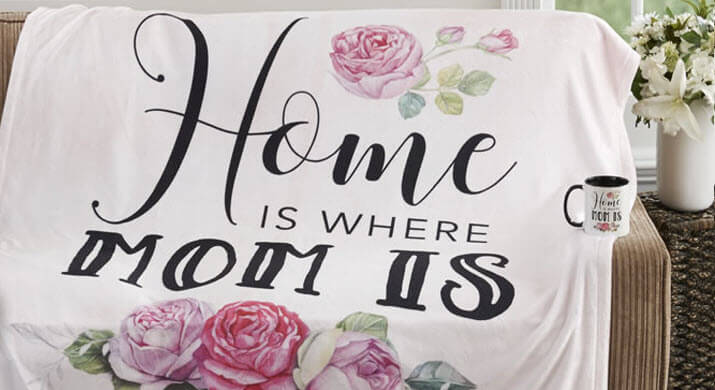 Home is Where Mom is - personalized gifts