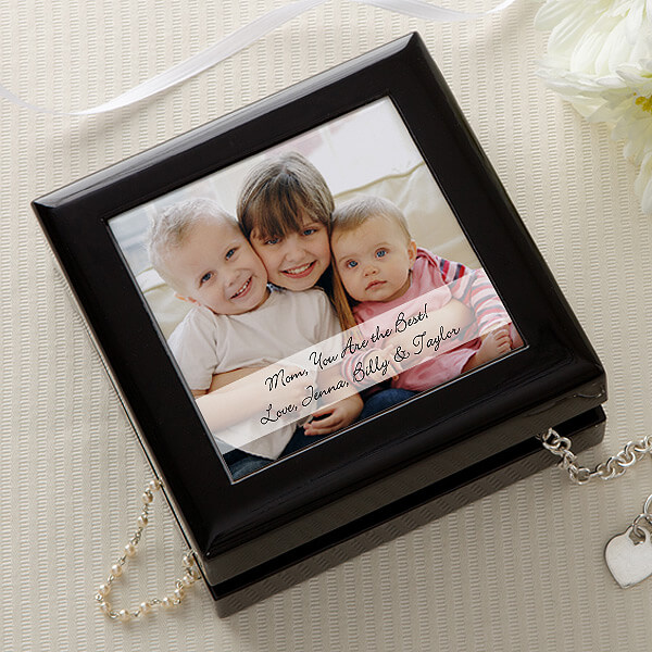 Photo Sentiments Personalized Jewelry Box