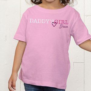 Daddy's Girl & Daddy Custom T-Shirts