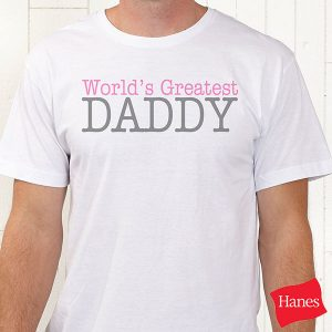 Daddy & Daddy's Girl Custom T-Shirts