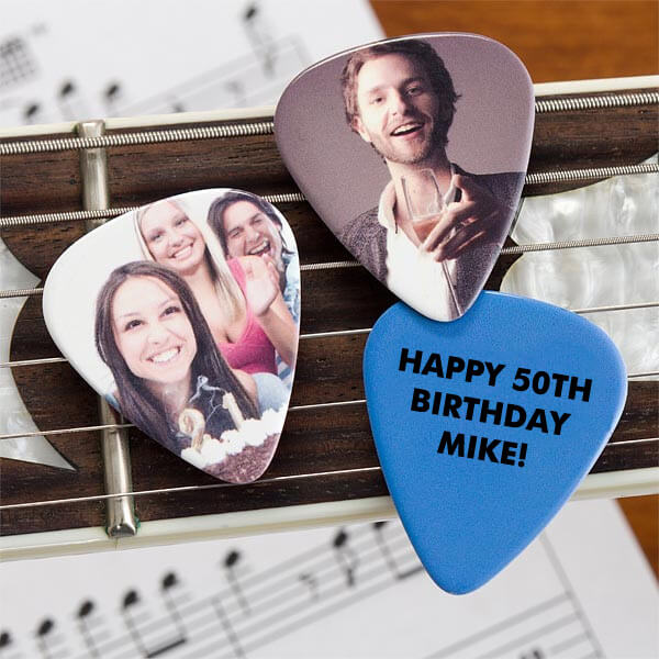 Picture This! Personalized Photo Guitar Pick