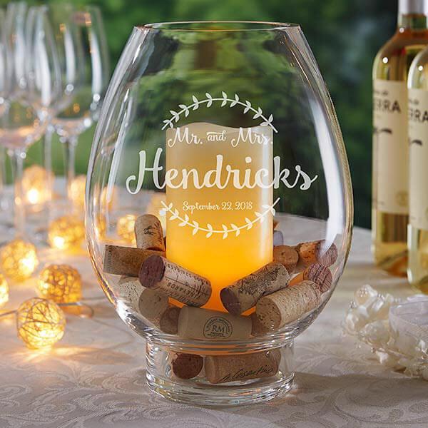 Wine Cork Wedding Ideas -Centerpieces