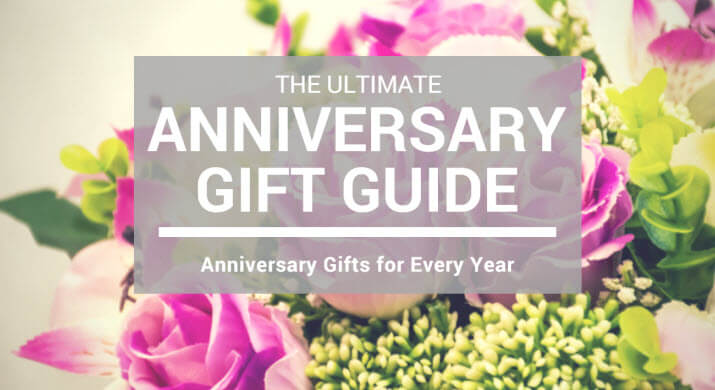 Anniversary Gifts By Year - Guide