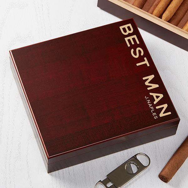 Groomsmen Gifts - Cigar Gifts