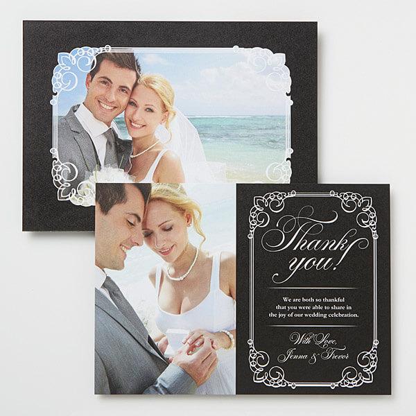 Wedding Thank You Card Templates